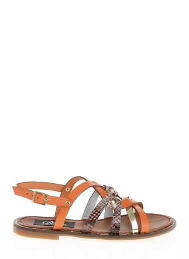 Derigo Oranj Kadın Sandalet 52481 Oranj